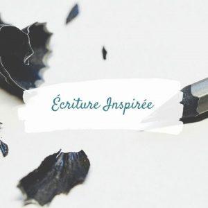 Écriture inspirée | Enseignement et Formation | Chamane Urbaine