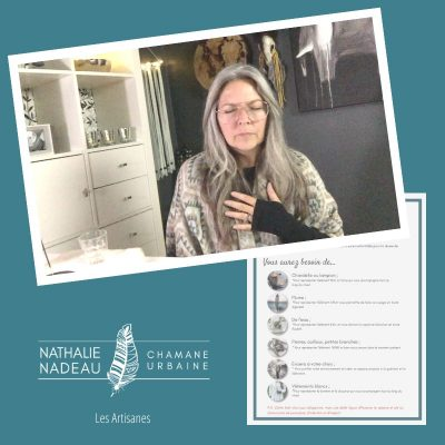 Éveillez votre Artisane de lumière - rituel - Nathalie Nadeau - Chamane Urbaine